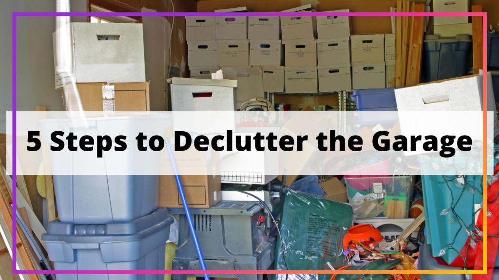 declutter the garage
