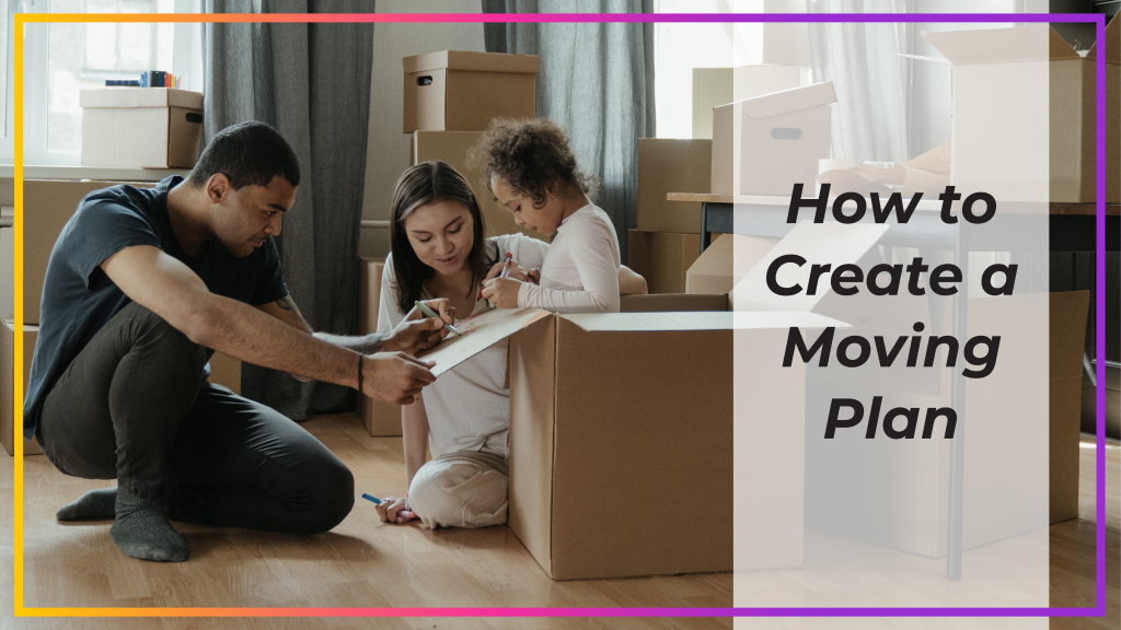 how to create a moving plan